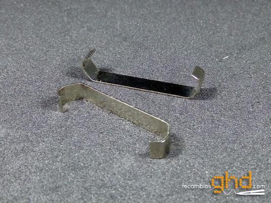 Clip sujeta placas